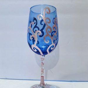 Handpainted Wine Glasses